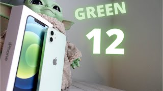 iPhone 12 Green Colour (iPhone 12 - Unboxing, Setup and First Look)