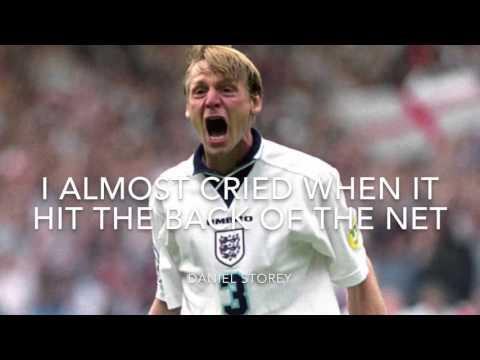 3 best England goals (Stuart Pearce v Spain, David Platt v Belgium, Gazza v Scotland)
