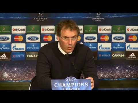 "Laurent Blanc über Javier Pastores Tor: ""Hat alles verändert"" | Paris Saint-Germain - FC Chelsea 3:1"