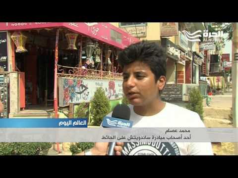 -ساندويش على الحيط-... مبادرة شبابية في مصر لإطعام الفقراء  - 19:21-2017 / 5 / 18