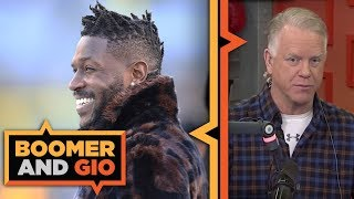 Who is the WINNER of the Antonio Brown trade? | Boomer & Gio