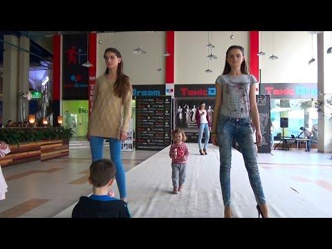 Киев День#6 идем в Экзоленд/ Катя на подиуме как модель