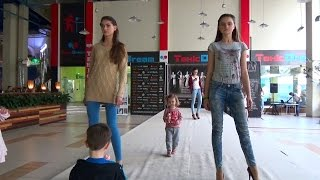 Киев День#6 идем в Экзоленд подиум ТРЦ ДримТаун прыгаем на батуте zoo in mall fashion trampoline