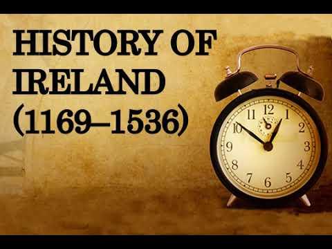 History of Ireland 1169–1536