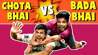 CHOTA BHAI VS BADA BHAI | The Half-Ticket Shows