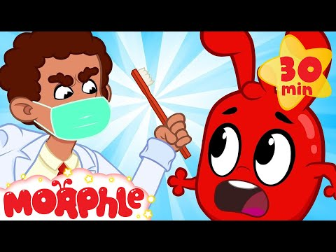 Morphle At The Dentist! - My Magic Pet Morphle | Cartoons For Kids | Morphle TV | BRAND NEW