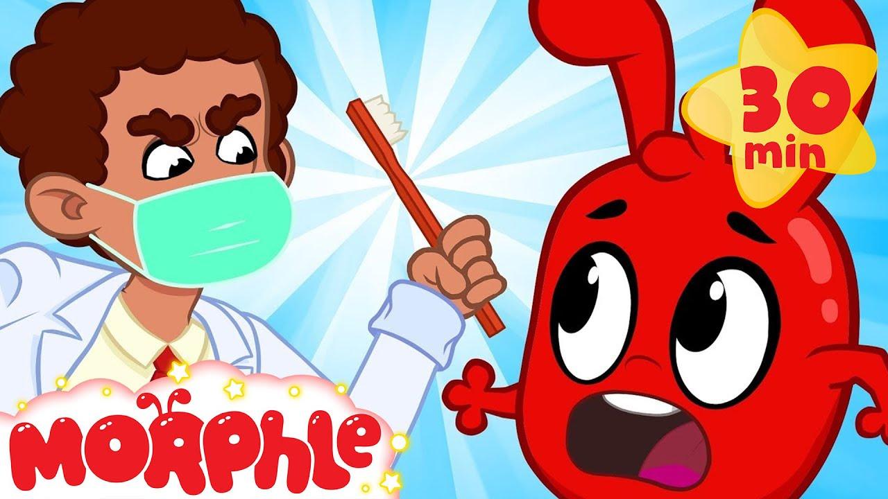 Morphle At The Dentist! – My Magic Pet Morphle   Cartoons For Kids   Morphle TV   BRAND NEW