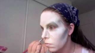 白塗り(white   facepaint)