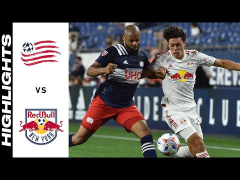New England New York Red Bulls Goals And Highlights