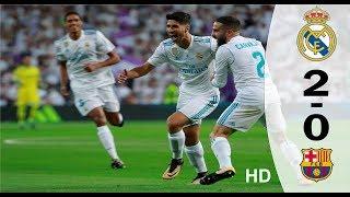 Video Real Madrid vs Barcelona 2-0 : All Goals Highlights : Spanish Super Cup 2017 download MP3, 3GP, MP4, WEBM, AVI, FLV Juli 2018