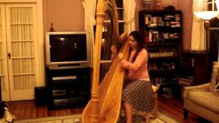 Passacaglia, Watching the Wheat, and Pistache on harp