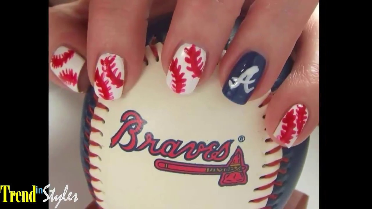 Baseball Nail Art Designs | Graham Reid