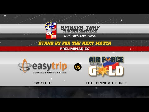 Spikers' Turf 2019 Open Conference: PH Air Force Vs Easytrip