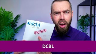 DCBL debt letter? Here's what to do!