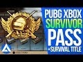 PUBG Xbox/PS4 Update – Survival Title System, Survivor Pass & New Military Uniform Set