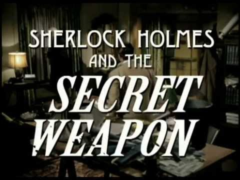 Sherlock Holmes and the Secret Weapon (1942) - trailer (colorized)