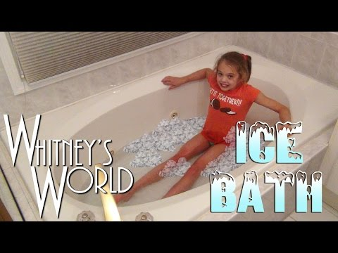 Ice Bath Challenge | Whitney