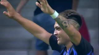 Atletico Madrid-Inter 0-1 Goal Lautaro Martinez!