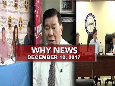 UNTV: Why News (December 12, 2017)