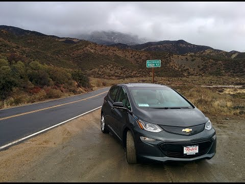 "Chevy Bolt EV: Driving from ""LA"" to Vegas on a Single Battery Charge"