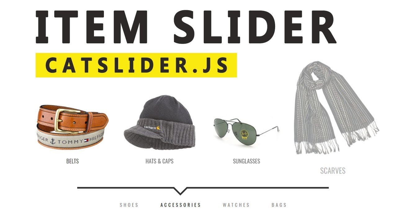 Product Slider With Catslider Js  Css 3  U0026 Html    Web