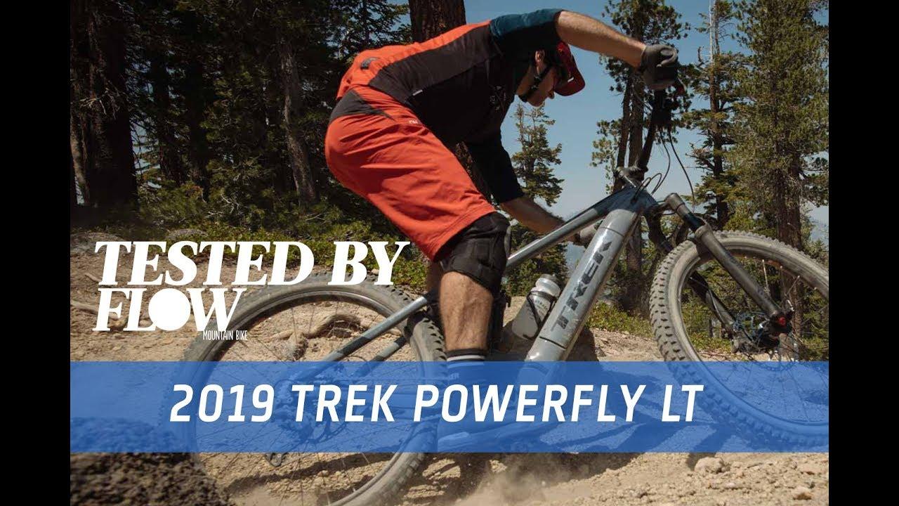 e1cc21e1e9c First Ride: 2019 Trek Powerfly LT e-MTB - YouTube