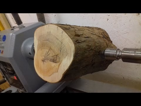 Woodturning - Log