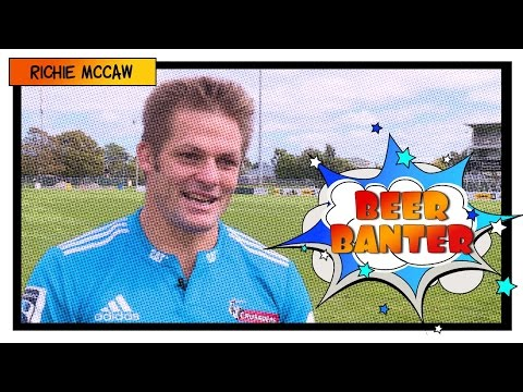 Talking beers in the scrum with Richie McCaw