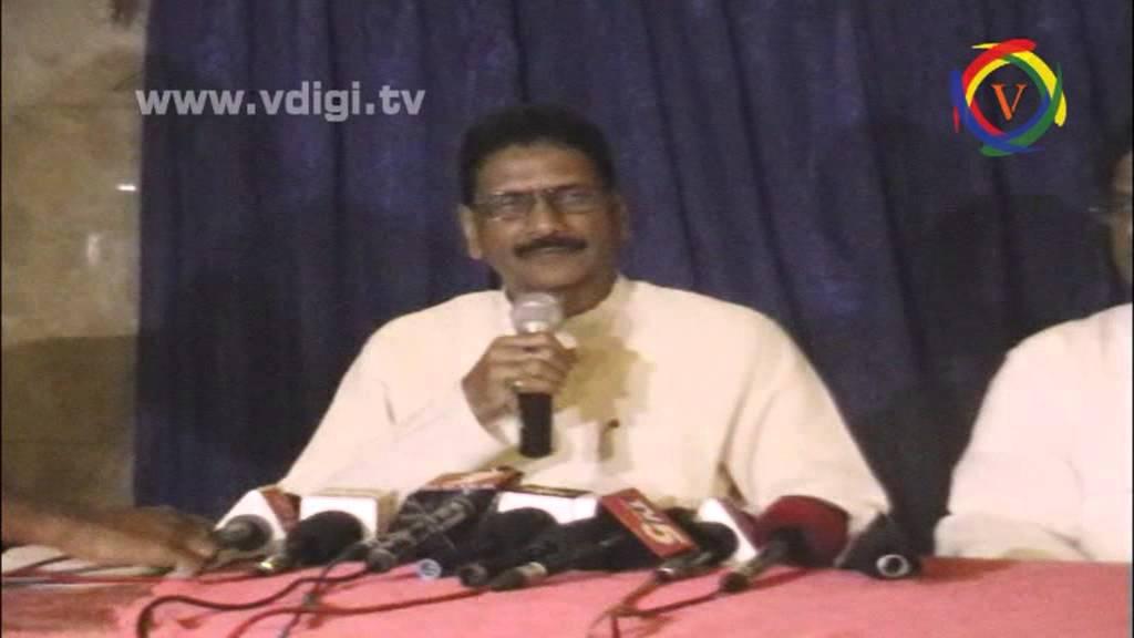 marri shashidhar Reddy Press Meet - YouTube