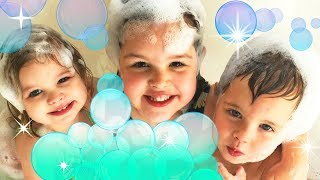 ?KIDS BUBBLE BATH with JETS!