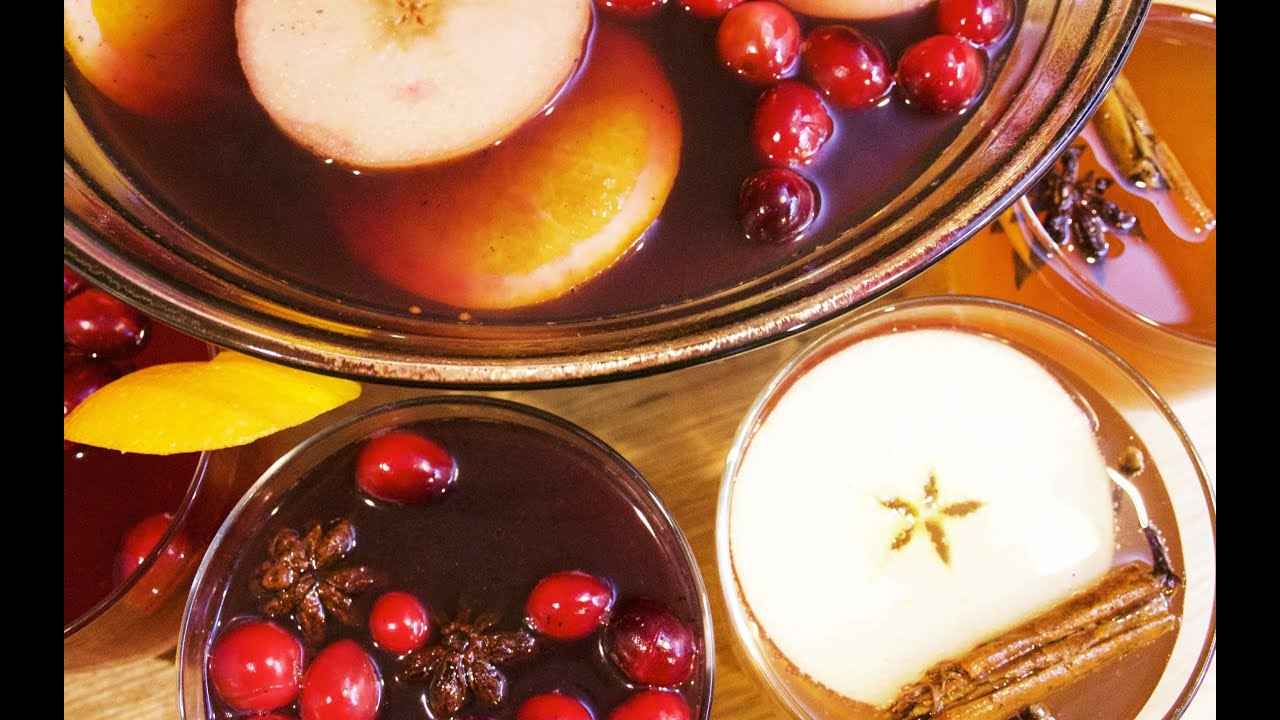 Mulled Wine | Winter Cider | Spiced Cranberry | Spiced ...