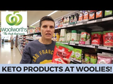 Woolworths Australian Keto Grocery Haul - New Keto Finds
