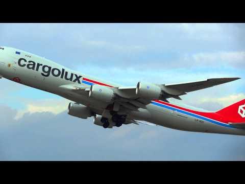 X VCH Cargolux Airlines International Boeing 747 8R7F