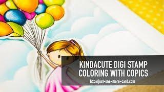 KindaCute Digi Stamp – Copic Coloring