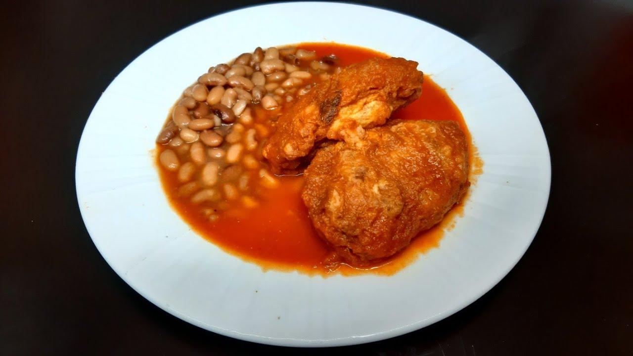 manitas de cerdo capeadas en salsa roja | comida mexicana | comiendo rico y facil
