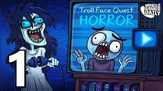 Troll Face Quest Horror - Gameplay Levels 1-10 (iOS Android)