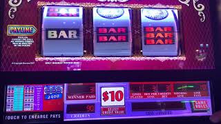 5 Times Pay - 9 Line Double Gold - Double Top Dollar - Old School High Limit Slots