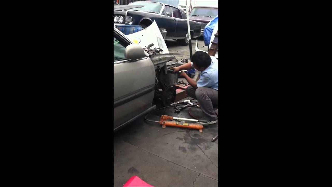 Como enderezar un carro - YouTube