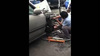 Como enderezar un carro