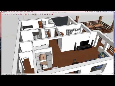 Обзор проекта одноэтажного дома в 3D