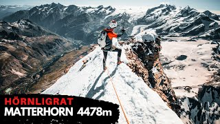 Matterhorn 4478m - HÖRNLIGRAT //  In one day from valley to the summit - FULL DOCUMENTARY