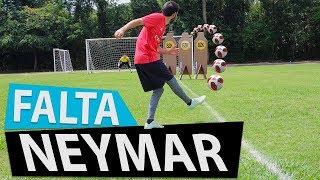 APRENDA FALTA DO NEYMAR JR. VS ESTRELA VERMELHA (Lances efetivos de futebol) {BZK}