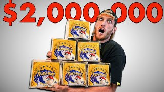 I Spent $2,000,000 On Pokémon Cards