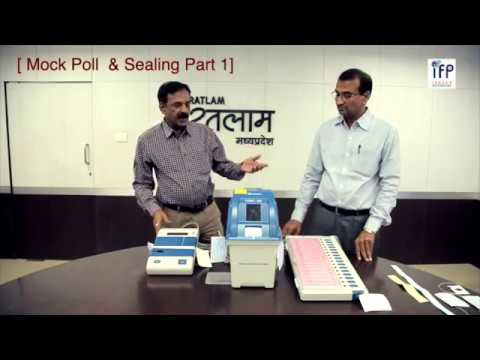 Election 2018 :Connecting EVM , VVPAT | Moke Poll and Sealing