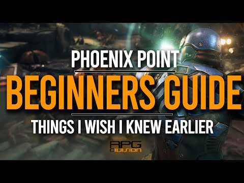 Things I Wish I Knew Earlier (Beginners Guide) - PHOENIX POINT