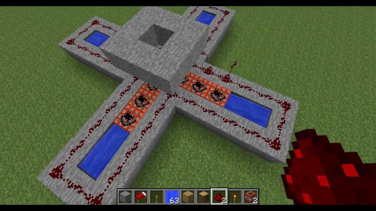 MinecraftComo fazer uma Máquina de Fogos COLORIDOS  YouTube -> Como Fazer Banheiro Moderno No Minecraft