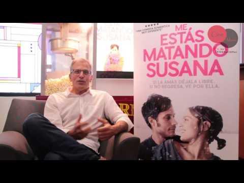 """Entrevistamos a Roberto Sneider,  director de """"Me estás matando Susana"""""""