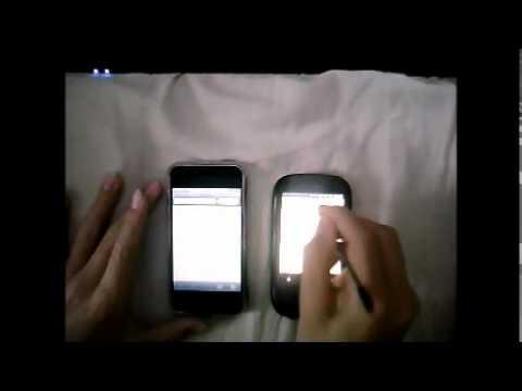T-mobile Pulse mini (256 MB) vs. iPhone 2G 8GB