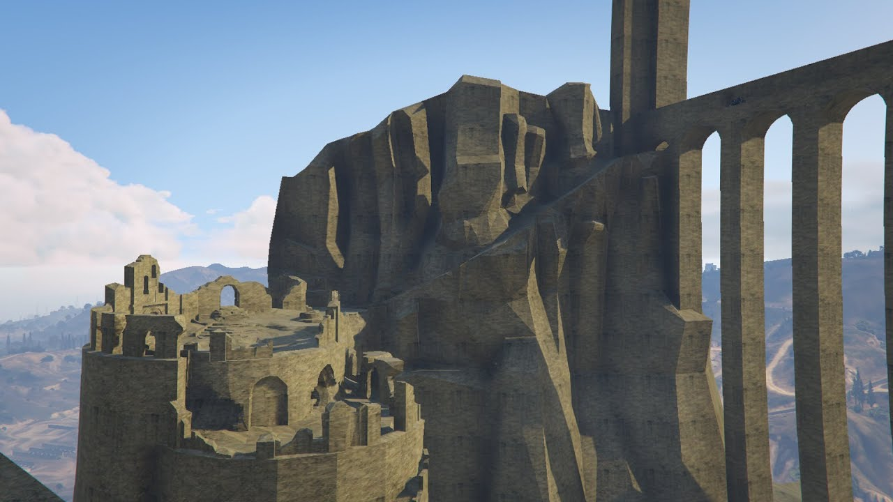 New Londo Map Dark Souls Early Prototype Of New Londo Ruins Map in GTA V   YouTube New Londo Map