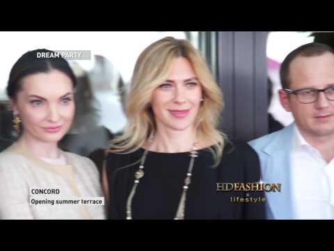 CONCORD TERRACE OPENING | Dream Party | HDFASHION